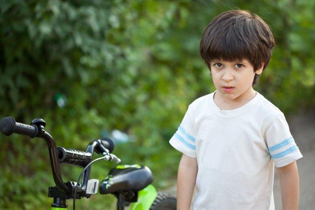 ילד כעוס